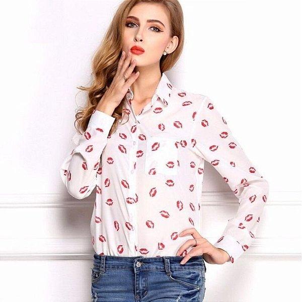 Camisa de Beijinhos - 2 cores