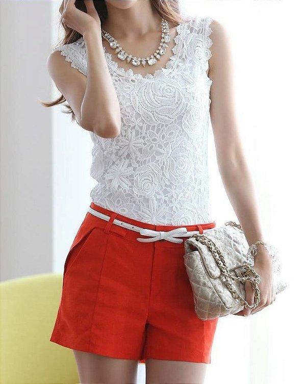 Blusa de Renda - 2 cores