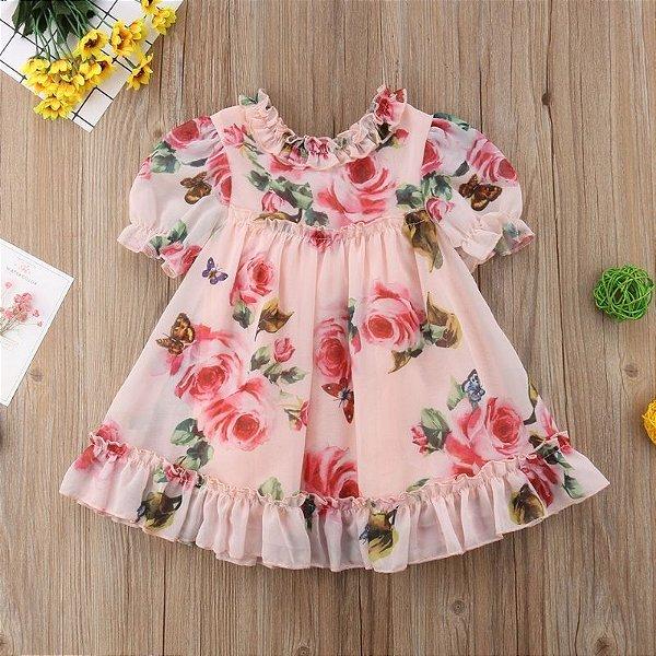 Vestido Roses Infantil