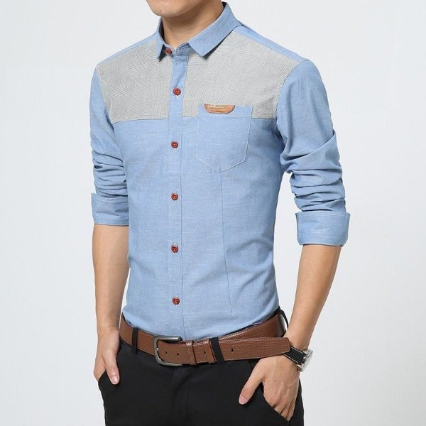 Camisa Masculina Patch - 2 cores