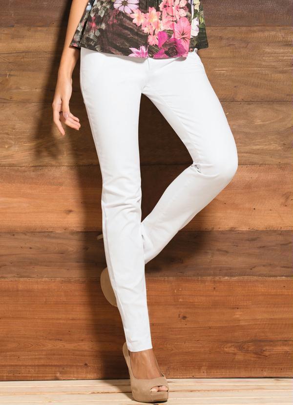 Calça Skinny Branca