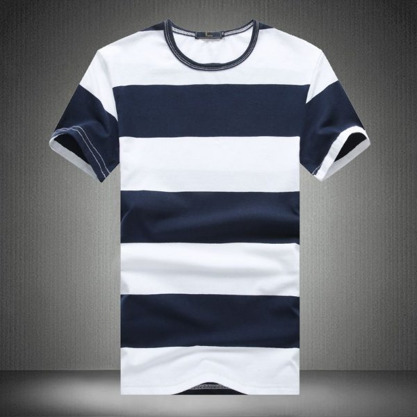 Camiseta Masculina Listrada - 4 cores