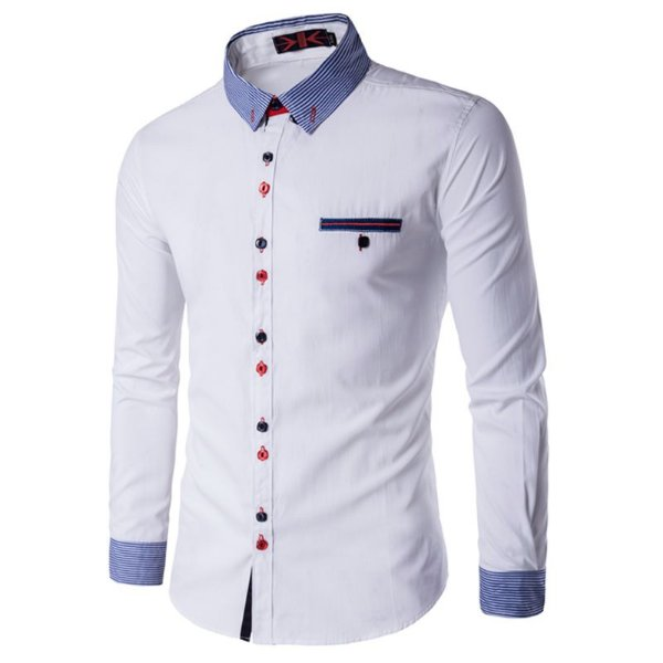 Camisa Masculina Trend Branca