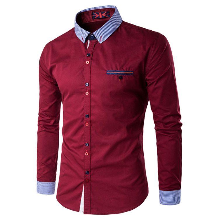 Camisa Masculina Trend Vinho
