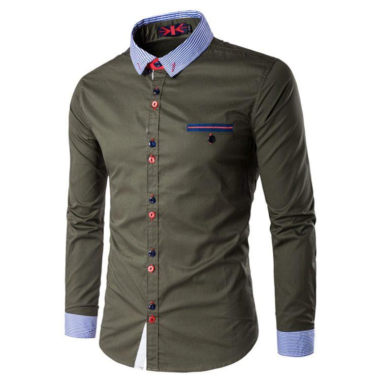 Camisa Masculina Trend Verde