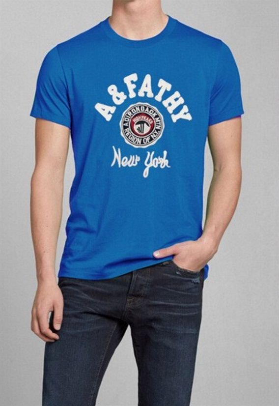 T-Shirt Masculina - Azul