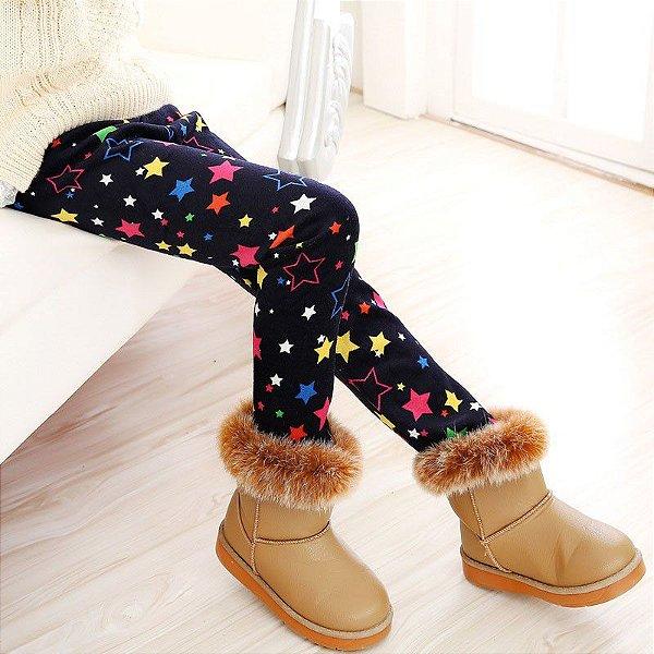 Legging Inverno Estrelinhas - 2 cores