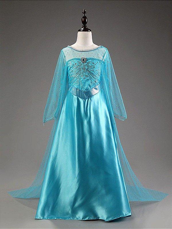 Vestido Azul Personagem