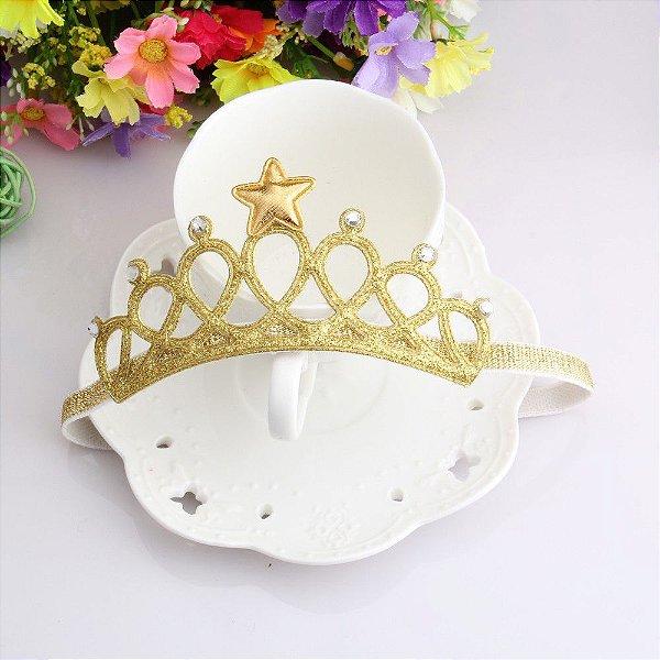 Elástico Coroa de Princesa - 2 cores