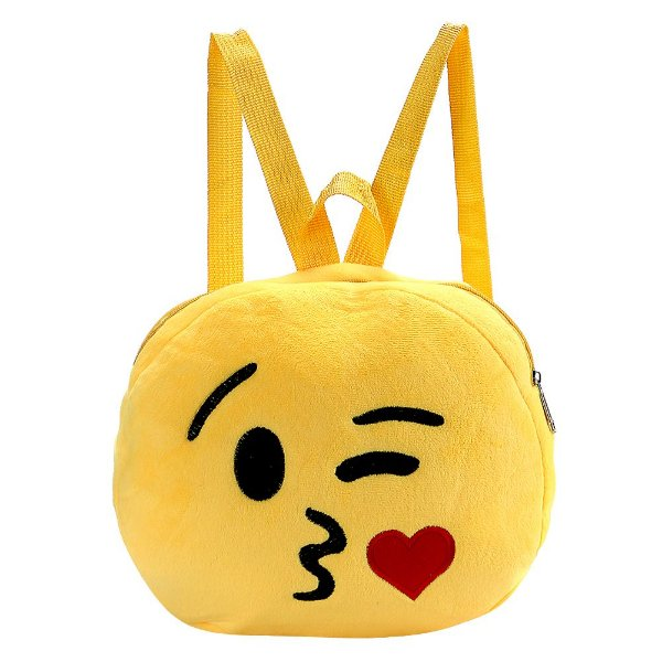 Mochila Emoji Beijinho