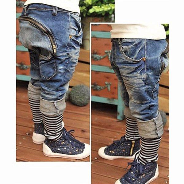 Jeans com Zíper