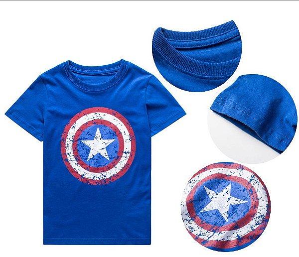 Camiseta Personagem - 4 cores