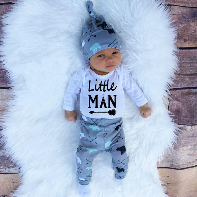 Conjunto Little Man -  3 peças
