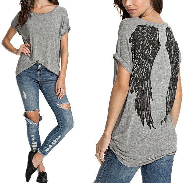 T-shirt Asas - 2 cores