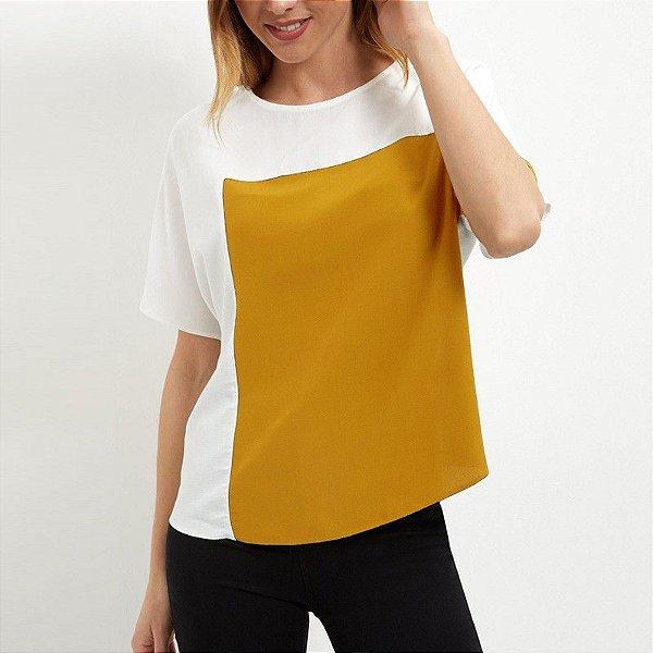 Blusa Quadrado - 2 cores