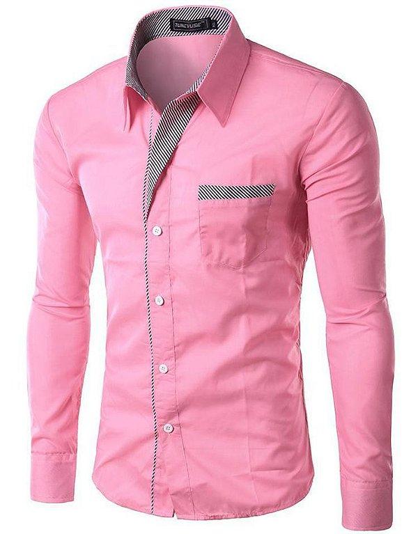 New Formal Shirt Design For Men 2013 Camisa Masculin...