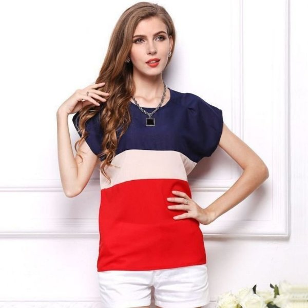 Blusa com Listras - 2 cores