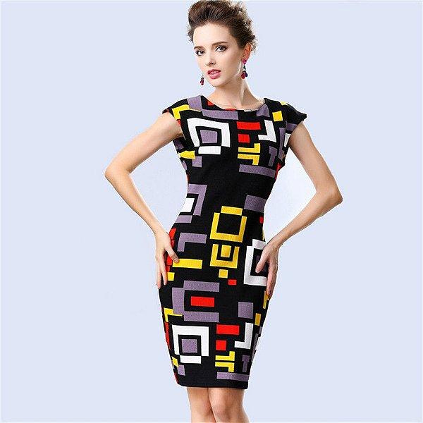Vestido Geométrico