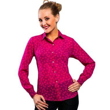 Camisa Chiffon Rosa