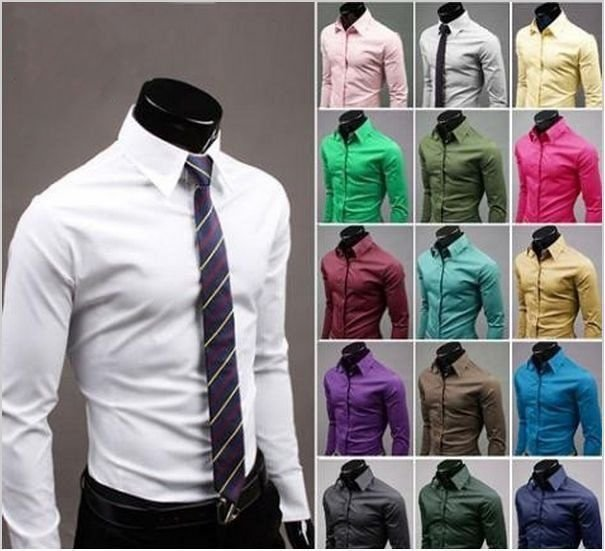 Camisa Slim Fit - 17 Cores