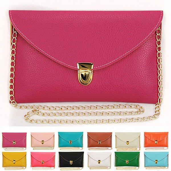Clutch Envelope Lisa - 12 cores