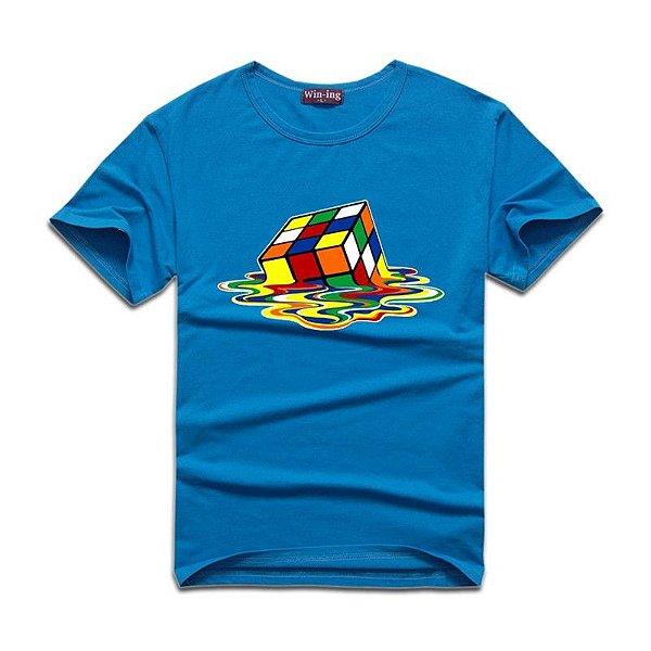 T-shirt Masculina Cubo Mágico - 6 cores
