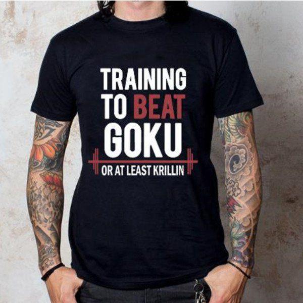 T-shirt Masculina Goku Preta