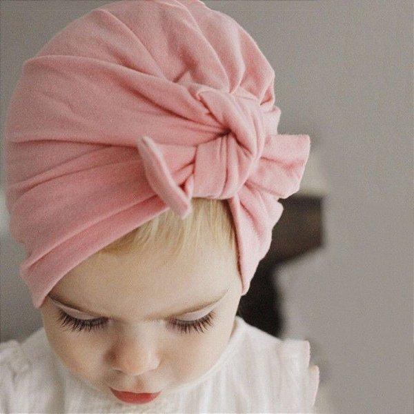Turbante Infantil Laço - 9 cores
