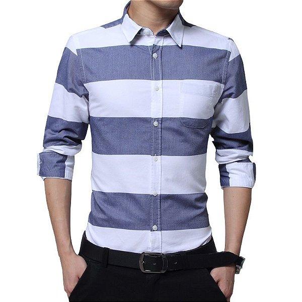 Camisa Listras Largas - 2 cores