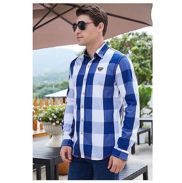 Camisa Quadriculada - 4 cores