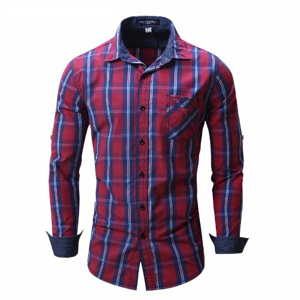 Camisa Xadrez Masculina - 3 cores