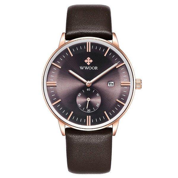 Relógio Classic WWOOR - 4 cores