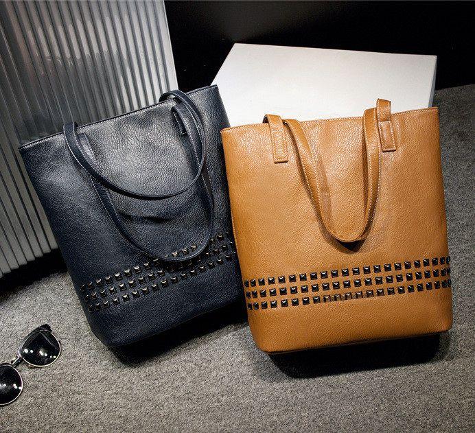 Bolsa com Tachas - 3 cores