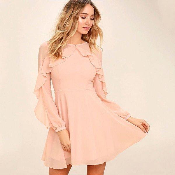 Vestido Soft Rose