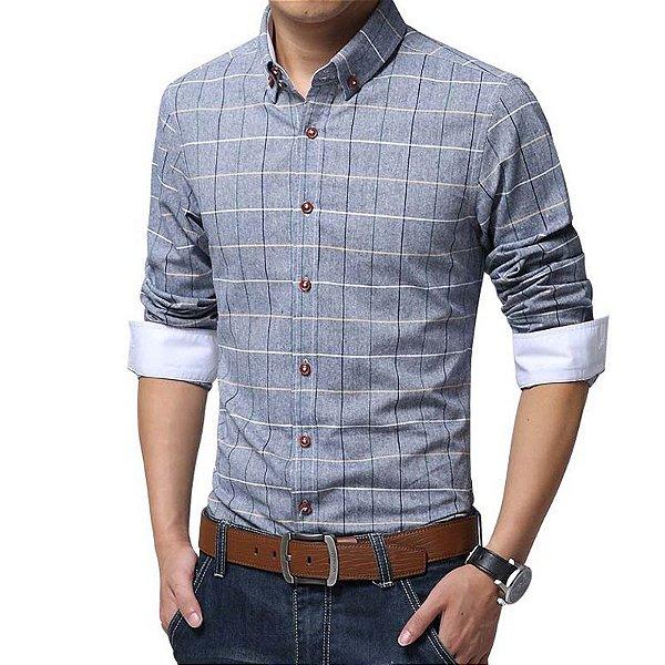 Camisa Xadrez - 4 cores