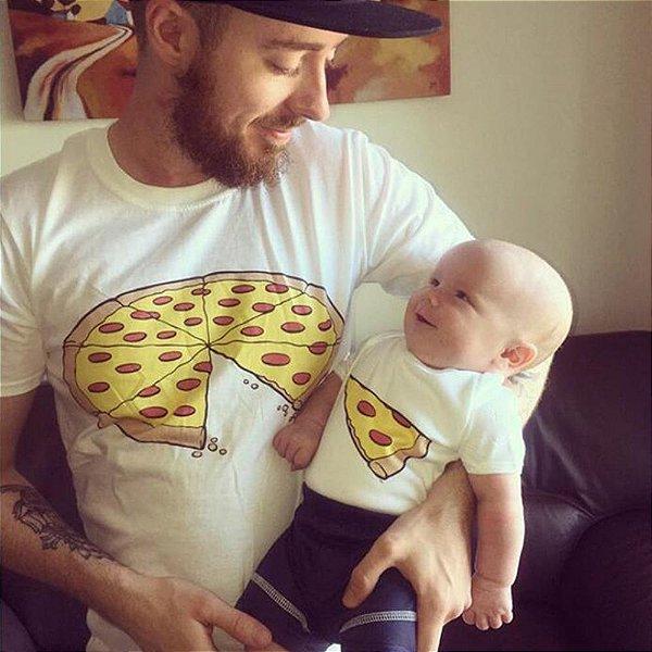 Camiseta Pizza Tal Pai Tal Filho