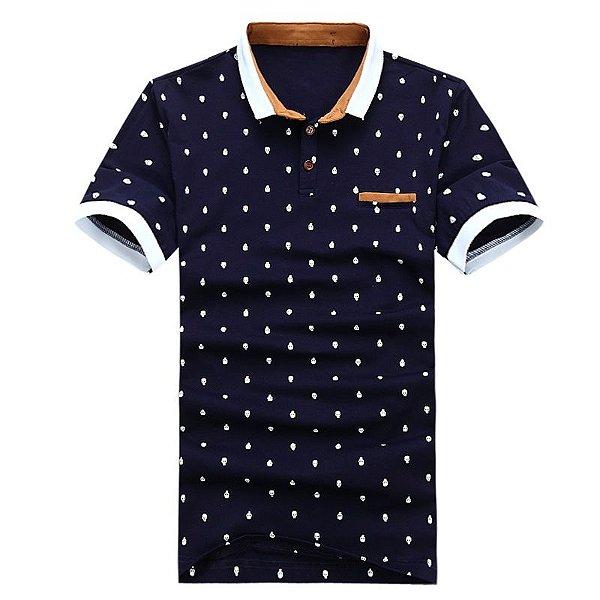 Camiseta Polo Caveiras - 2 cores