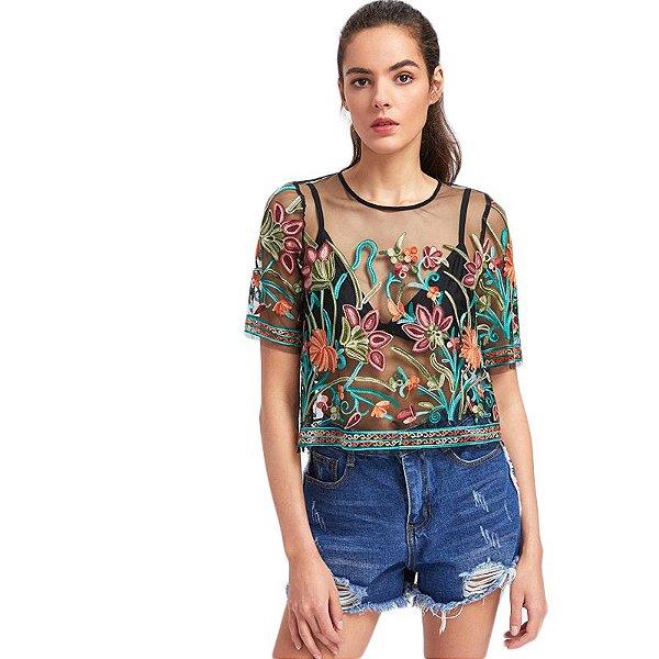Blusa Sobreposição - 2 cores
