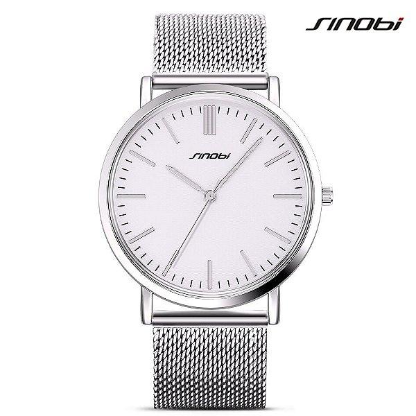 Relógio Luxury SINOBI - 2 cores