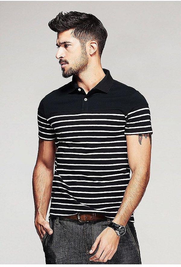 Camiseta Polo Casual - 2 cores