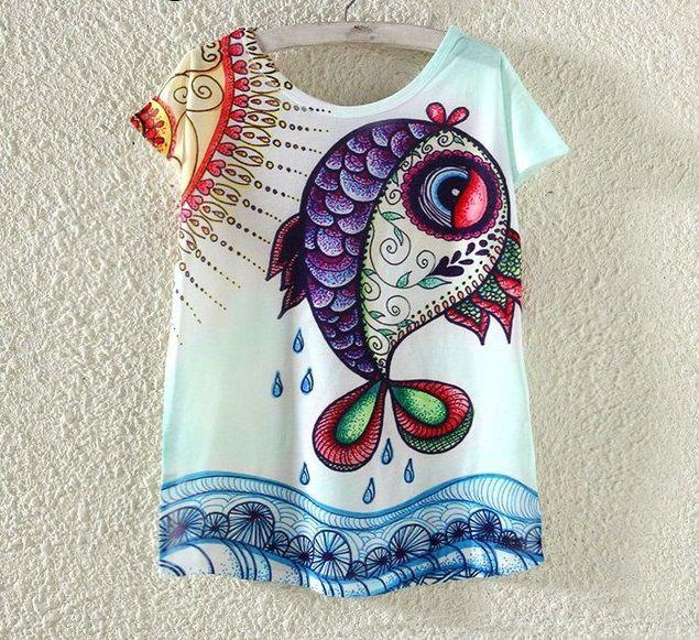 T-shirt Fish