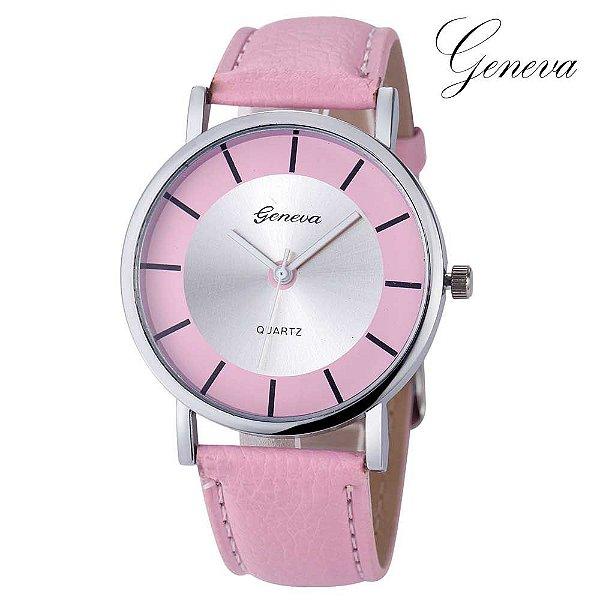 Relógio Fashion Geneva - 6 cores