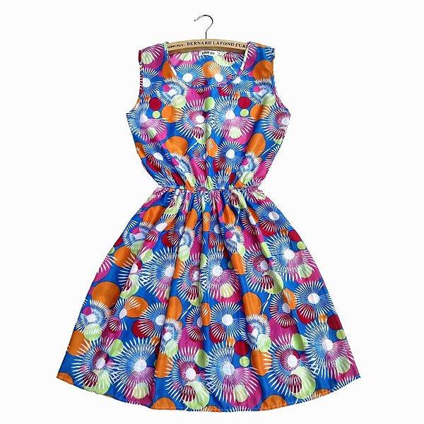 Vestido Acinturado Colors - 2 cores