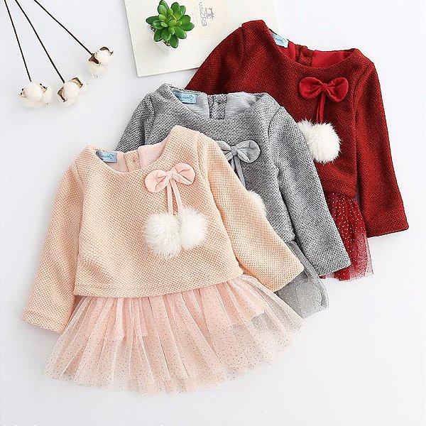 Vestido Lolita - 3 cores