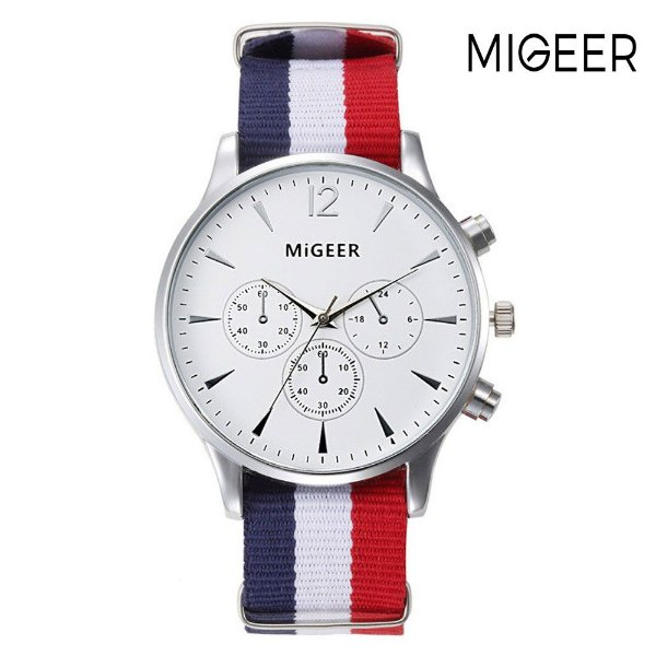 Relógio Stripes MIGEER - 4 cores