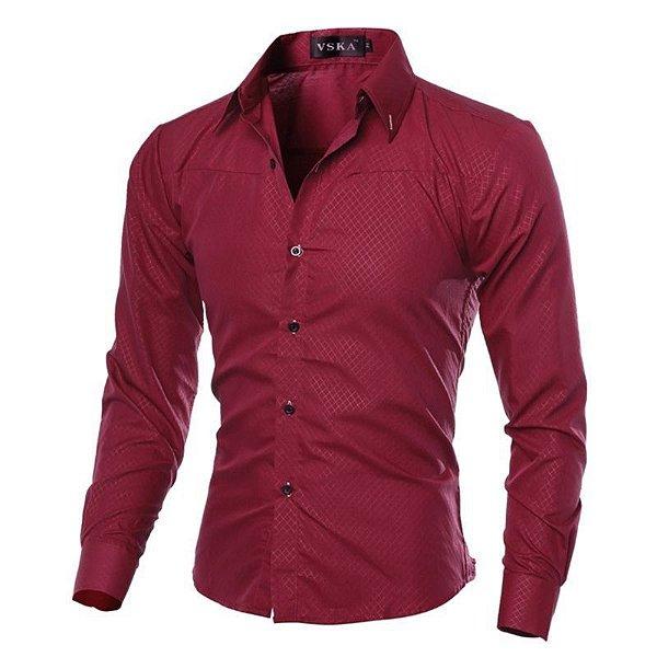 Camisa Glaze Vinho