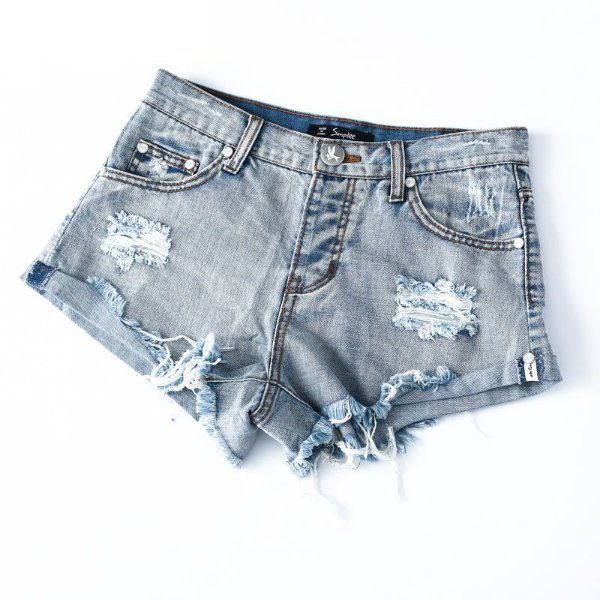 Short Jeans Detonado - 2 cores