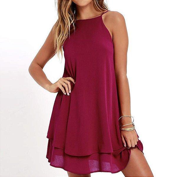 Vestido Trapézio - 3 cores