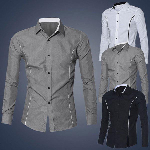 Camisa Elegance - 3 cores