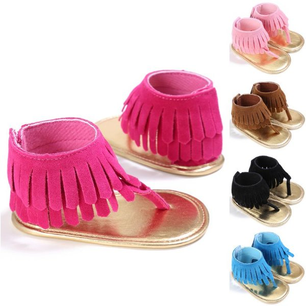 Sandalinha de Franjas - 5 cores